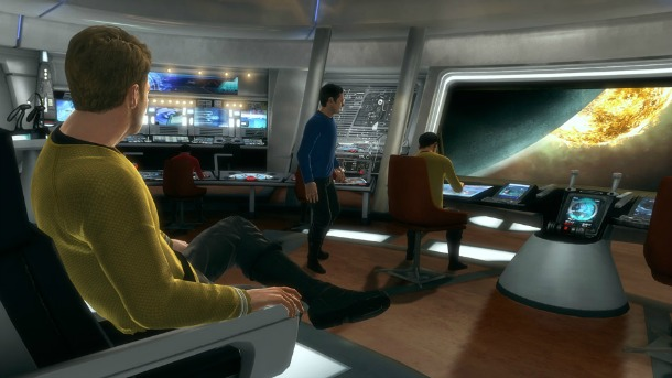 Star Trek The Video Game Flying Into Stores In April