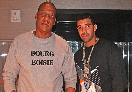 Drake & Jay-Z Hit the Studio