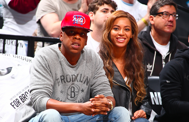 Jay Z, Beyoncé, and Drake Are All Courtside at The Raptors Vs. Nets Game Tonight