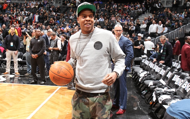 Jay Z Sent Out His First Tweet in Nearly 10 Months After the Nets Beat the Raptors Yesterday