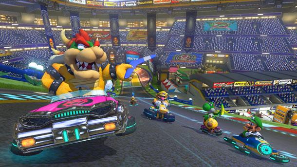 Live Stream – Mario Kart 8