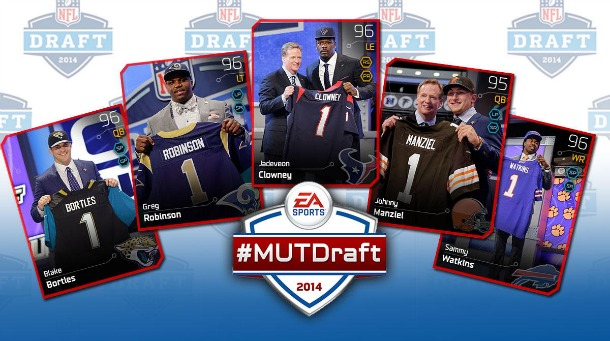 Drafting First Round Gold In Madden NFL 25's Ultimate Team Mode