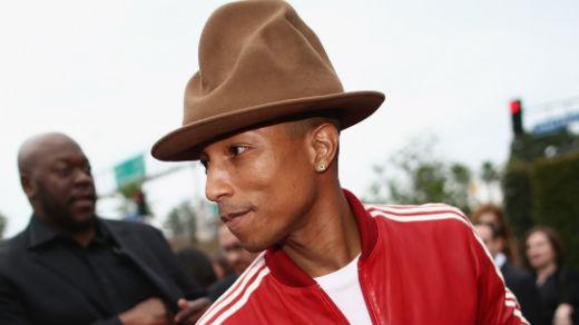 Pharrell Covers W Magazine's Art Issue