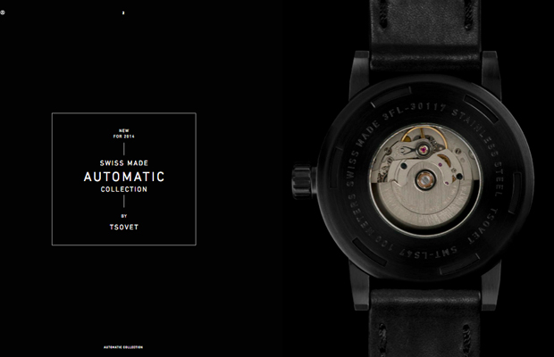 Tsovet's New Automatic Watch Collection Will Add Class to Your Basic Life