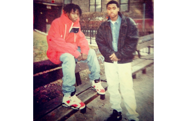Proof That Nas Really Was an O.G. Nikehead