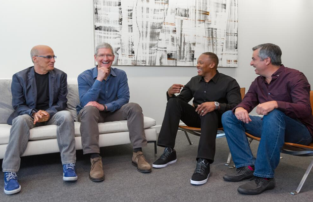 Dr. Dre and Jimmy Iovine's Titles at Apple Will Simply Be 'Dre' and 'Jimmy'