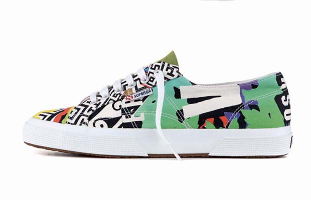 Versus Versace and Superga Bring Wild Prints to Their New Collaboration