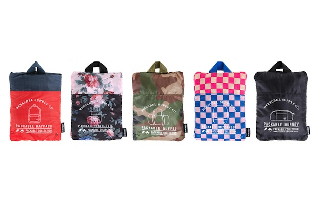 Summer Vacation Packing Gets Simplified With Herschel Supply Co.'s Packable Collection