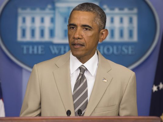 In Defense of Barack Obama's Tan Suit