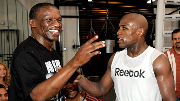 Floyd Mayweather Sr. Wants 50 Cent to Get Inside a Boxing Ring and Fight His Son