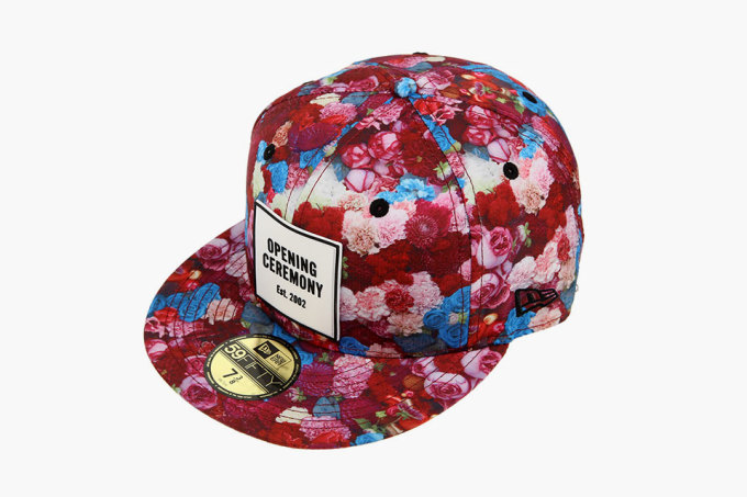 The Latest Opening Ceremony x Thierry Boutemy x New Era Collection Is an Irresistible Floral Explosion
