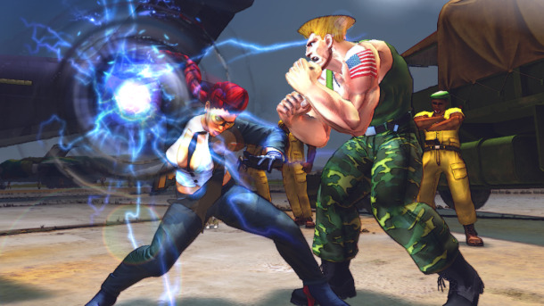 Ultra Street Fighter IV Hadoukens Onto Retail