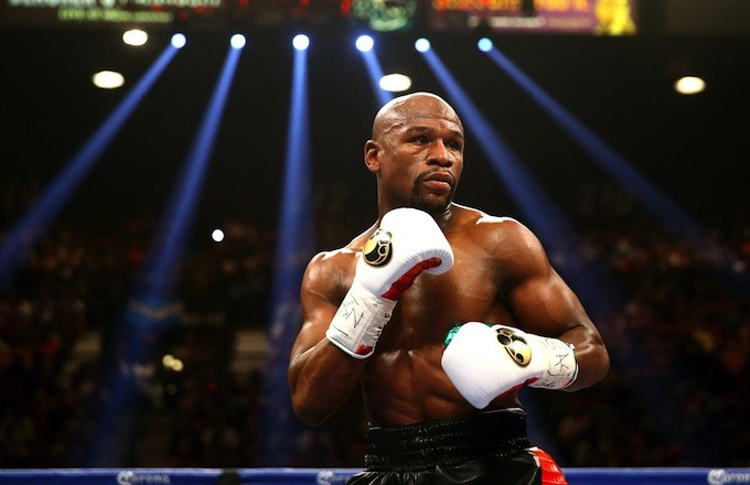 Floyd Mayweather Thinks 50 Cent Should Take That $750,000 Bet and Donate It to Mike Brown's Family