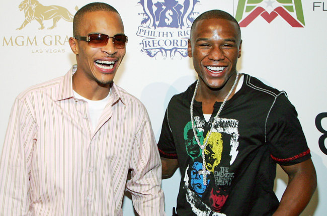 Beef Over? T.I. Congratulates Floyd Mayweather After Victory