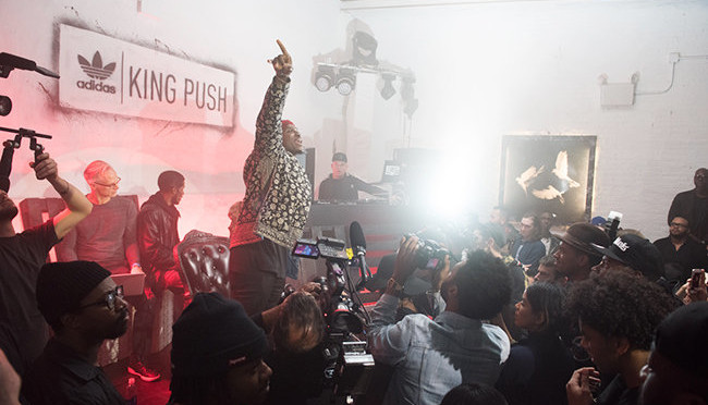 Pusha T Unveils New Adidas Sneaker, Previews 'King Push' Album