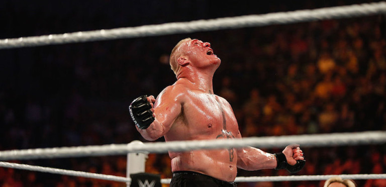 WWE 2K17 Cover Star Brock Lesnar Welcomes You To Suplex City