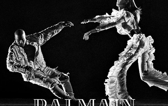 Kanye West Stars in Balmain's Dramatic New Campaign