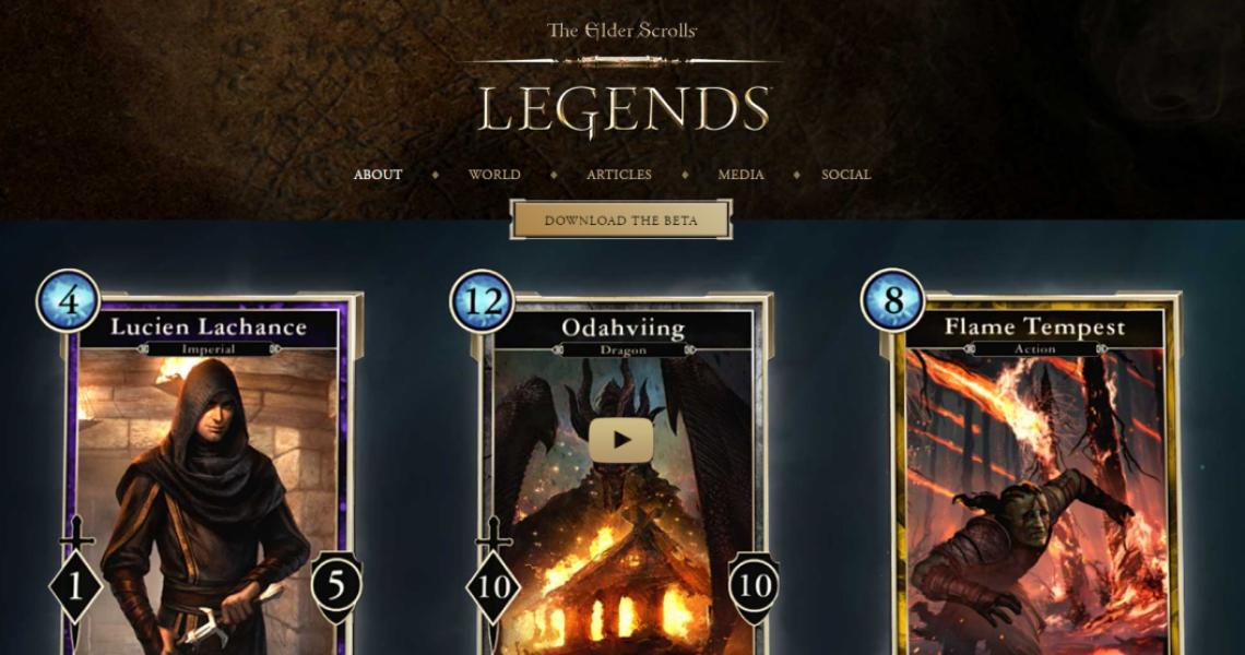 Elder Scrolls: Legends Beta Gets Specially Priced Starter Pack