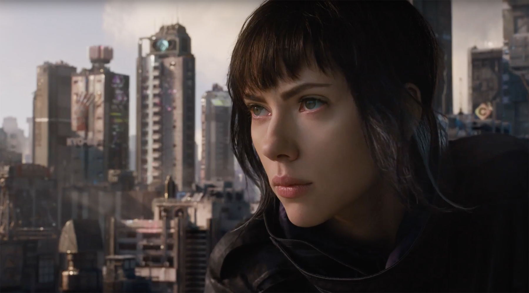 New Ghost In The Shell Trailer Shows Cyborg Scarlett Johansson Wreaking Havoc