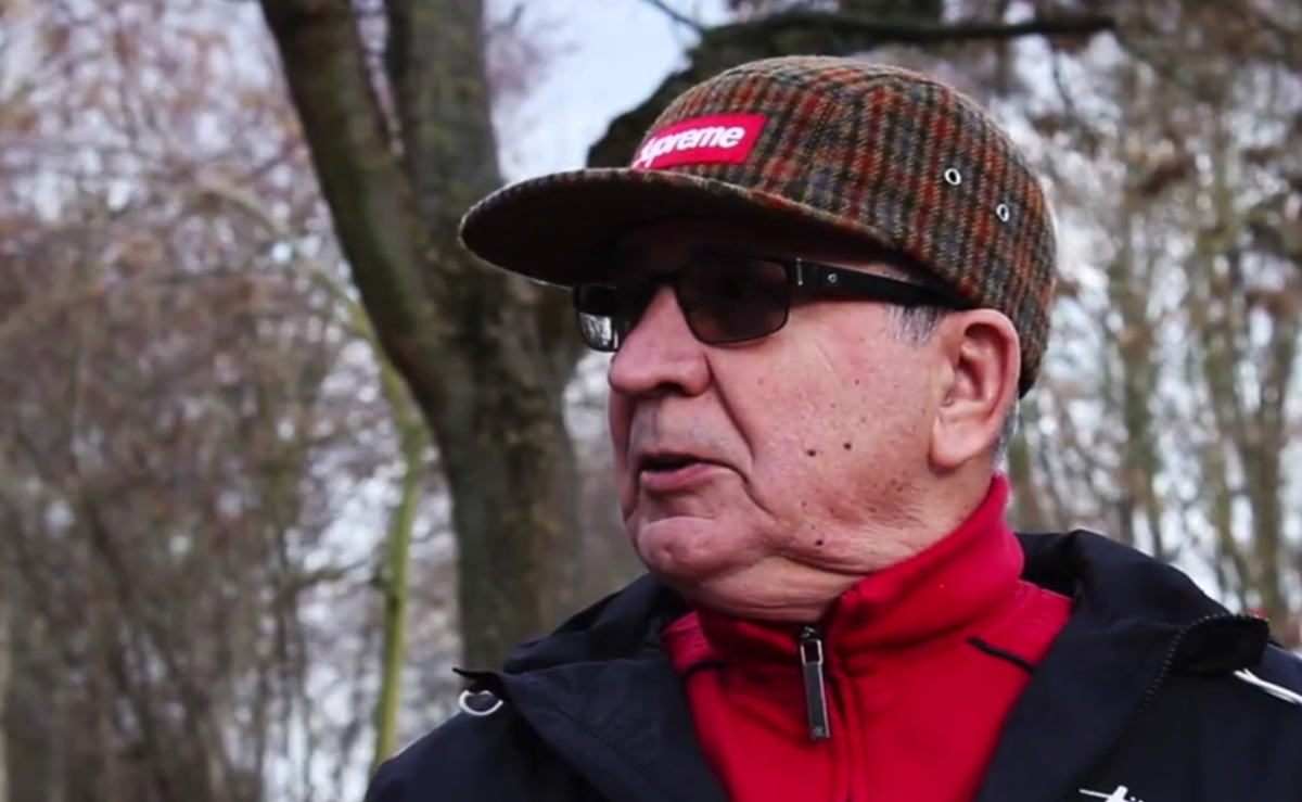 71-Year-Old Grandpa Who Rocks Supreme