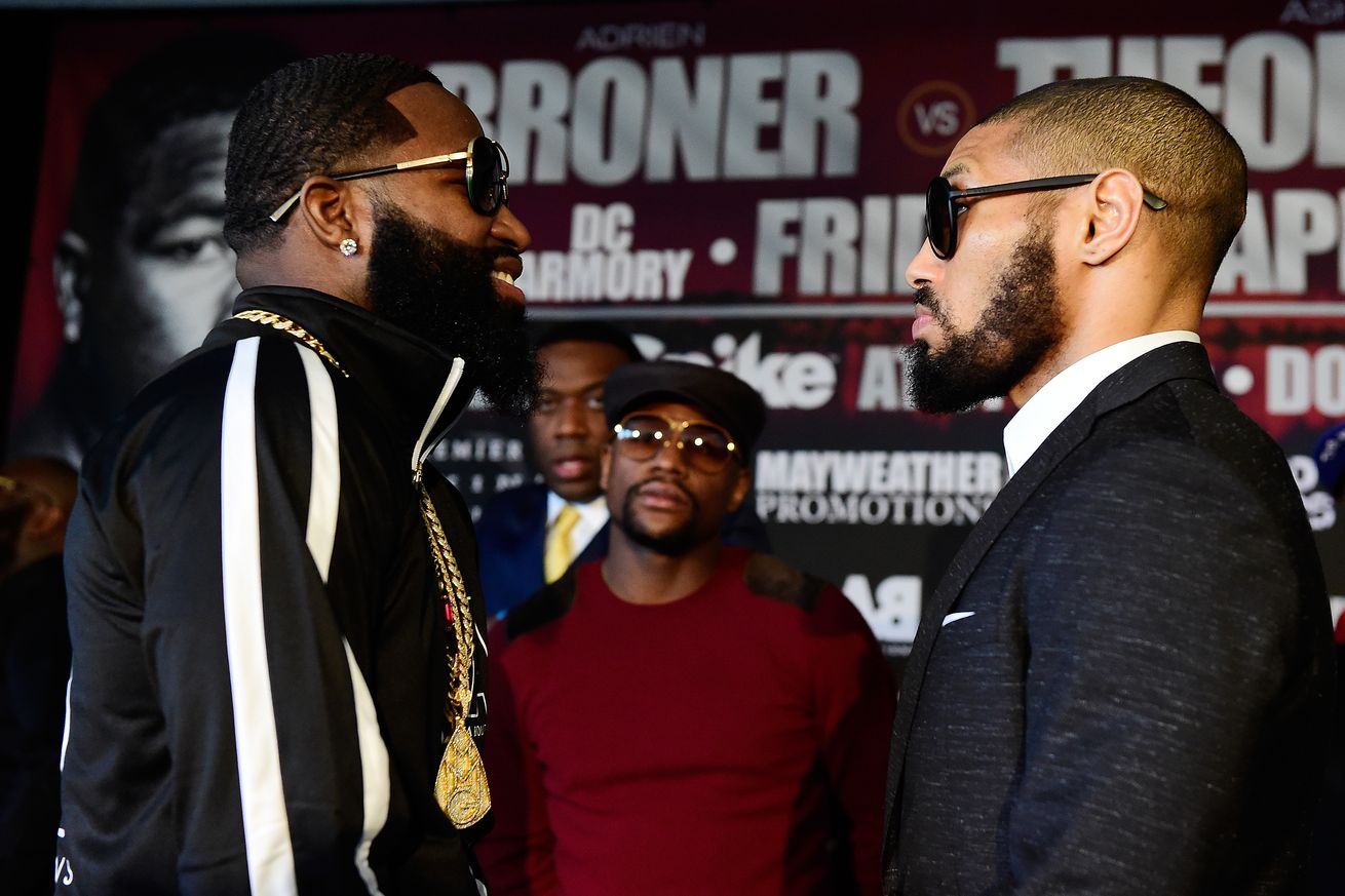 Adrien Broner and Floyd Mayweather Might Be Back on Bad Terms Again