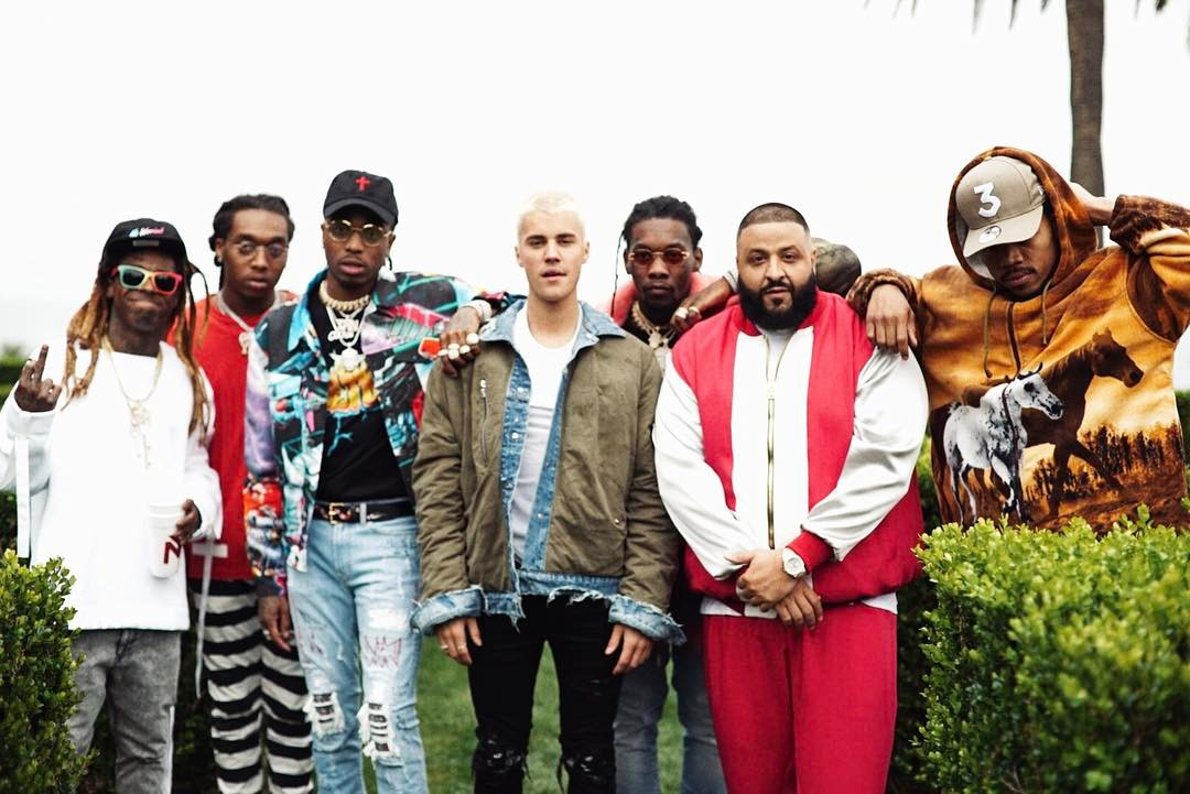 First Hot R&B/Hip-Hop Songs No. 1 on DJ Khaled's 'I'm the One'