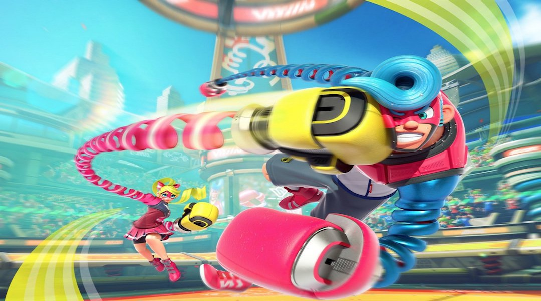 Arms Is Out Today On Nintendo Switch