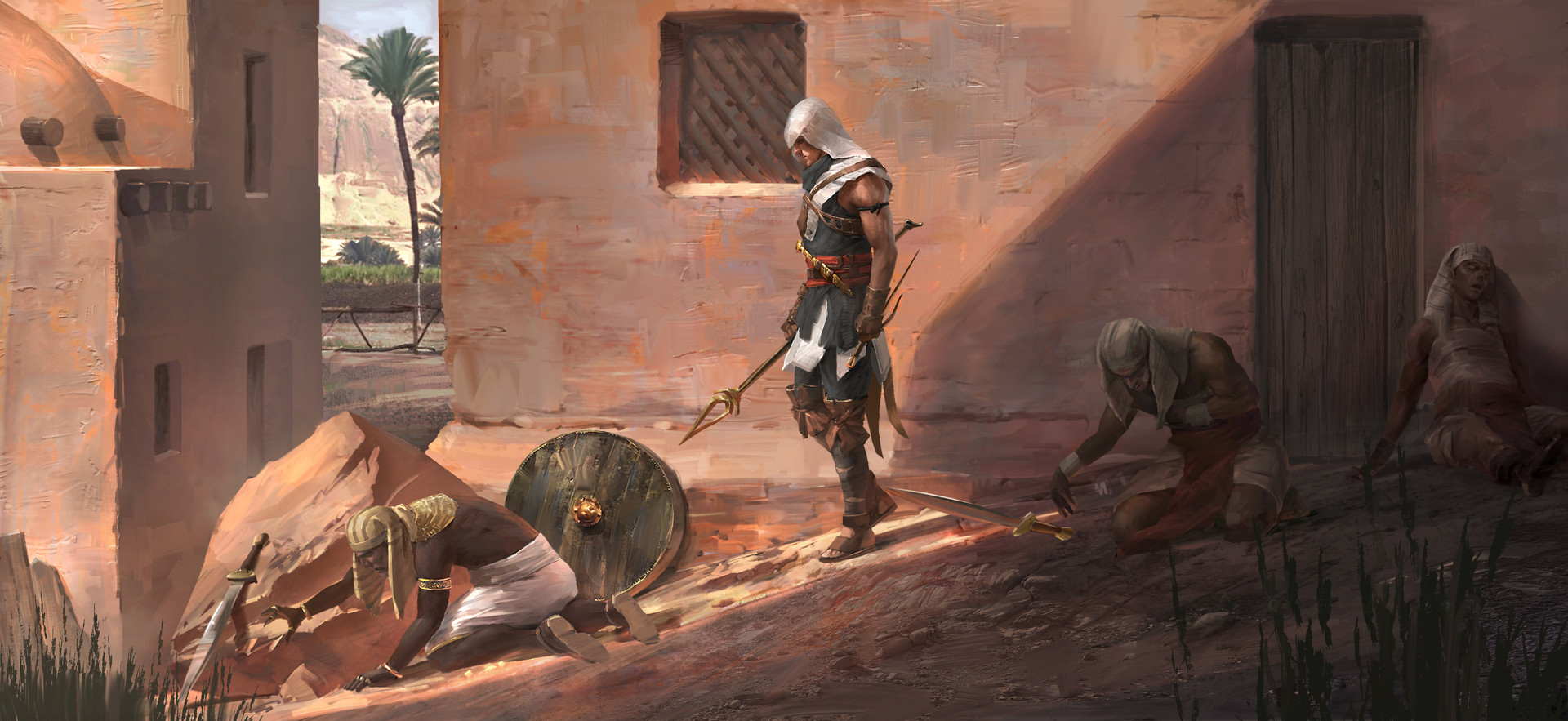 How Assassin's Creed Origins' Combat Shatters Tradition