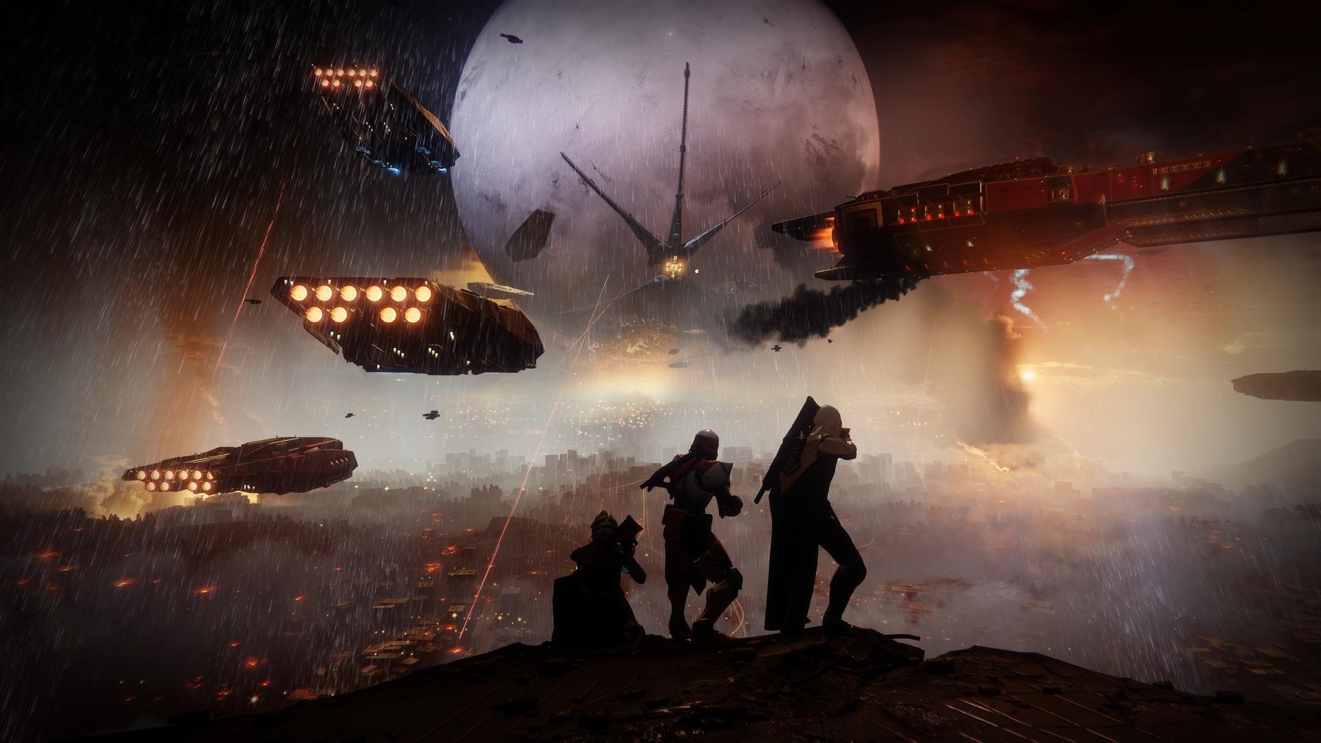 Bungie Shows More Of Destiny 2's Open Destinations