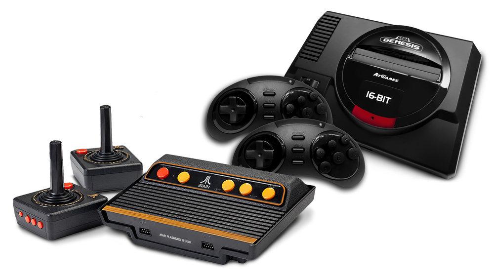 Atari And Sega Retro Consoles Announced