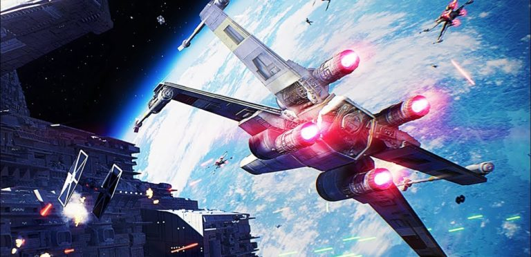 Check Out This Star Wars: Battlefront II Starfighter Assault Trailer