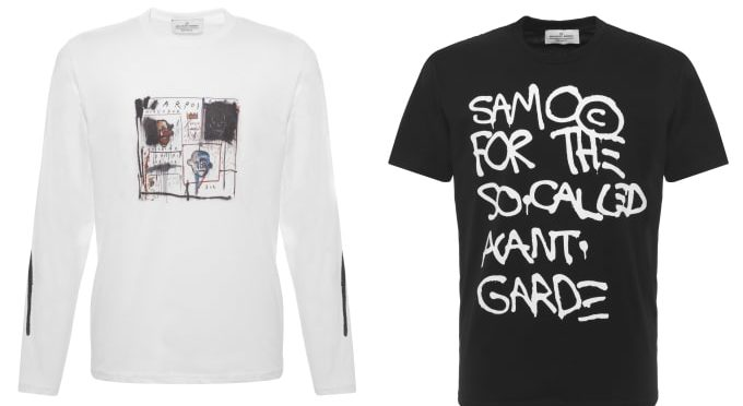 Browns Celebrates The Art Of Basquiat With Exclusive Apparel Collection