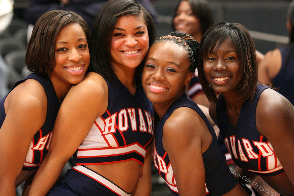 Howard University's Cheerleaders Have Been Kneeling in Protest for Over a Year