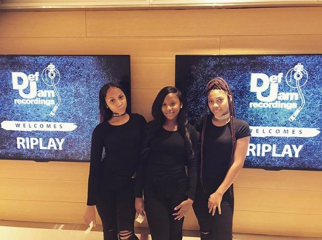 """Def Jam Records signs newest R&B Pop girl group """"Riplay"""""""