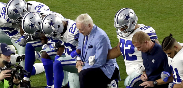 NFL Owners May Create New Rule That Forces Players to Stand During National Anthem