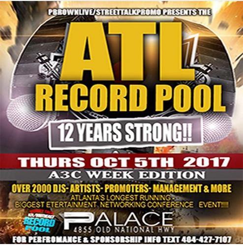 ATL RECORD POOL A3C Week Edition