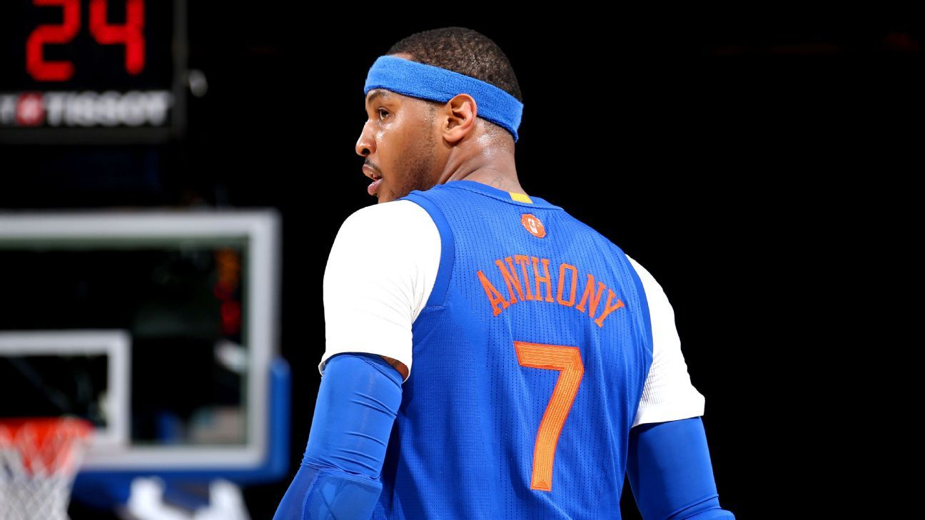 Carmelo Anthony Says Oklahoma City Fans Appreciate Players More