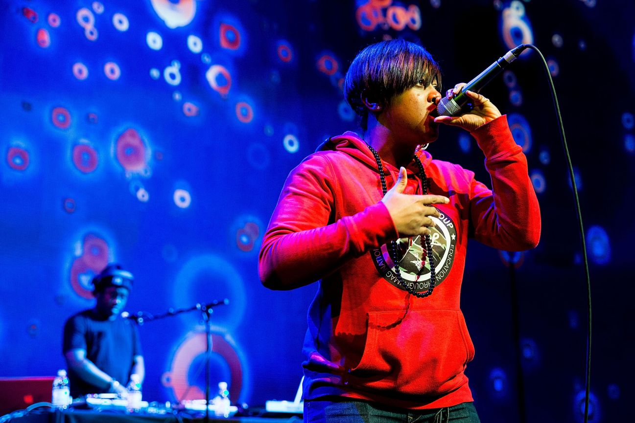 Rapsody Performing at Essence Black Women in Music