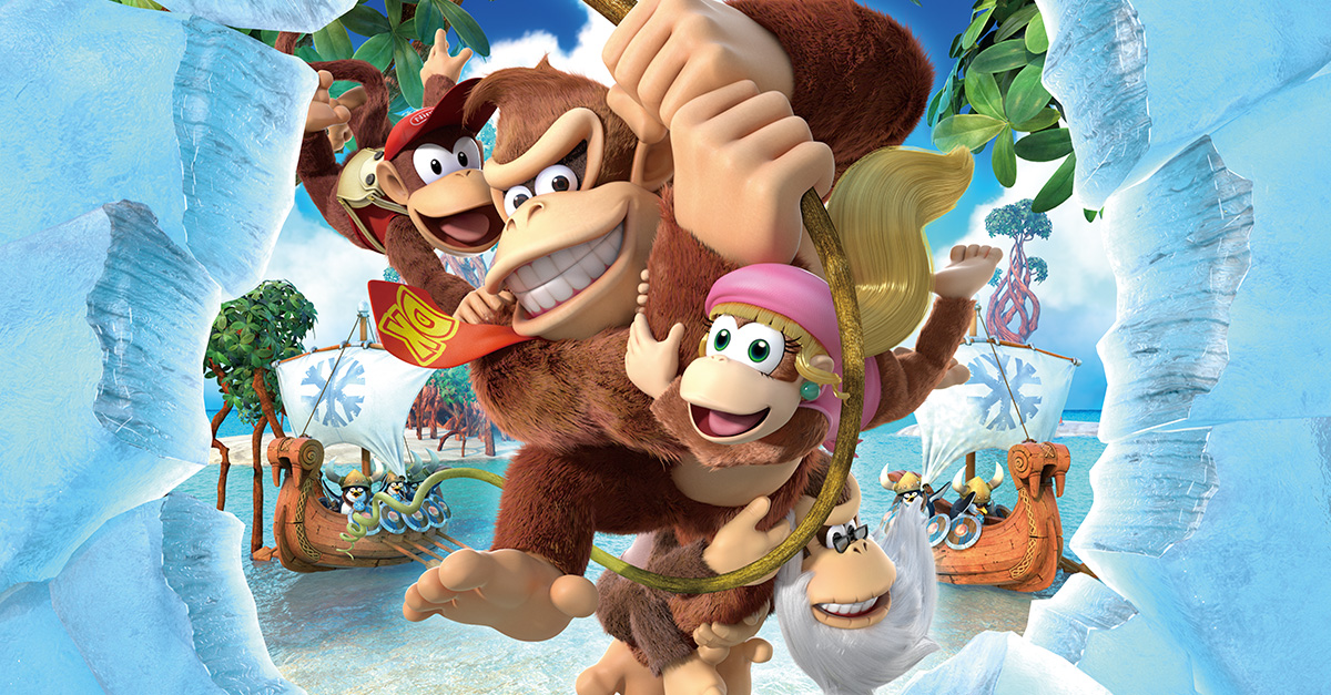 Donkey Kong Country: Tropical Freeze Arrives On Switch