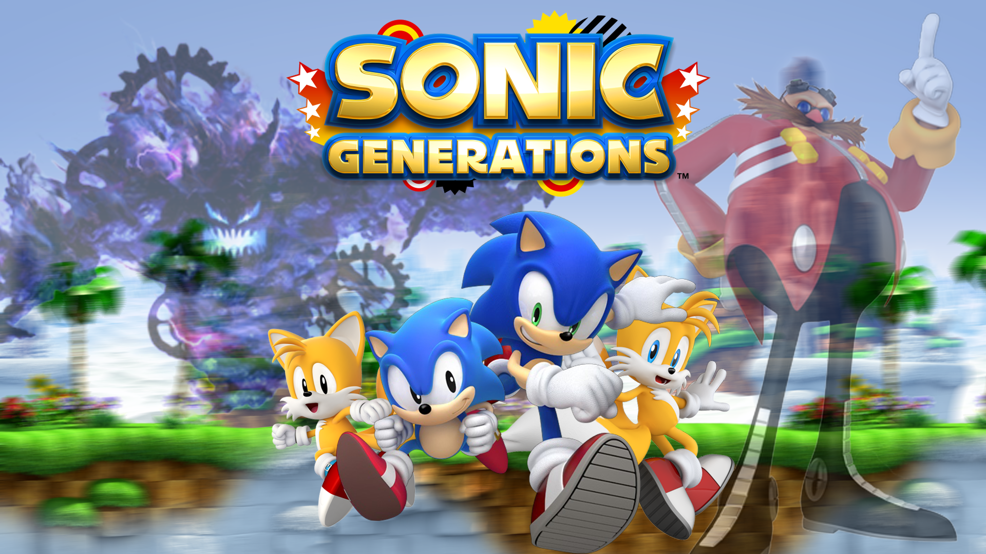 See What The Cameras In Sonic Generations Can't Catch In This Video