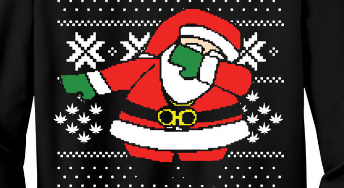 "You Can Now Buy a 2 Chainz ""Dabbing Santa"" Ugly Christmas Sweater ..."