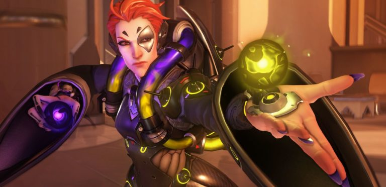 Overwatch Adding New Support Hero Moira And Blizzard World Map